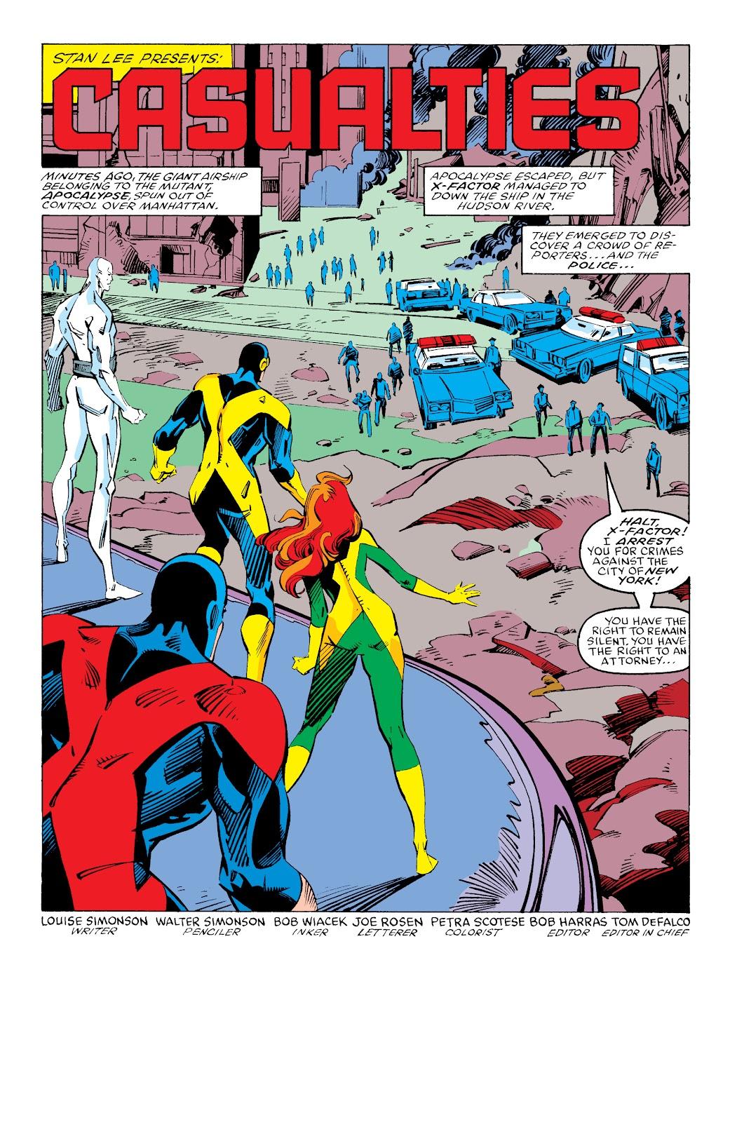 Read online X-Men Milestones: Fall of the Mutants comic -  Issue # TPB (Part 3) - 46