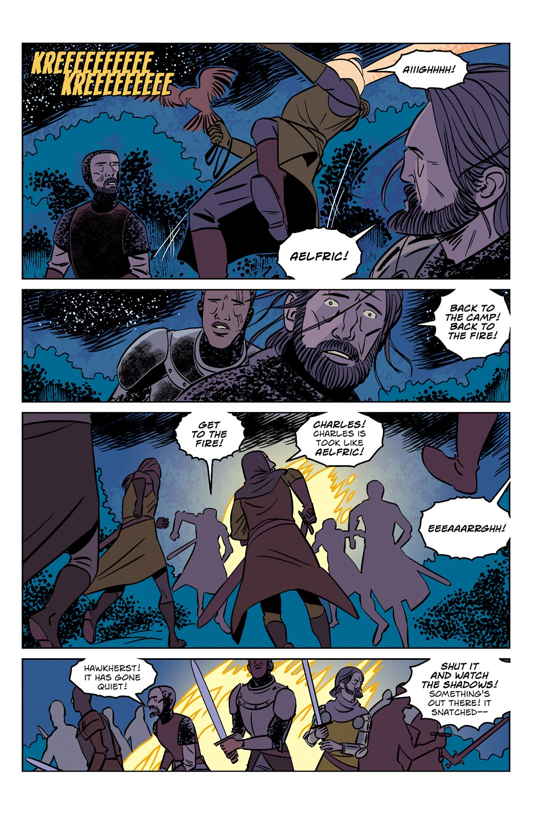 Read online Dark Ages comic -  Issue #1 - 8