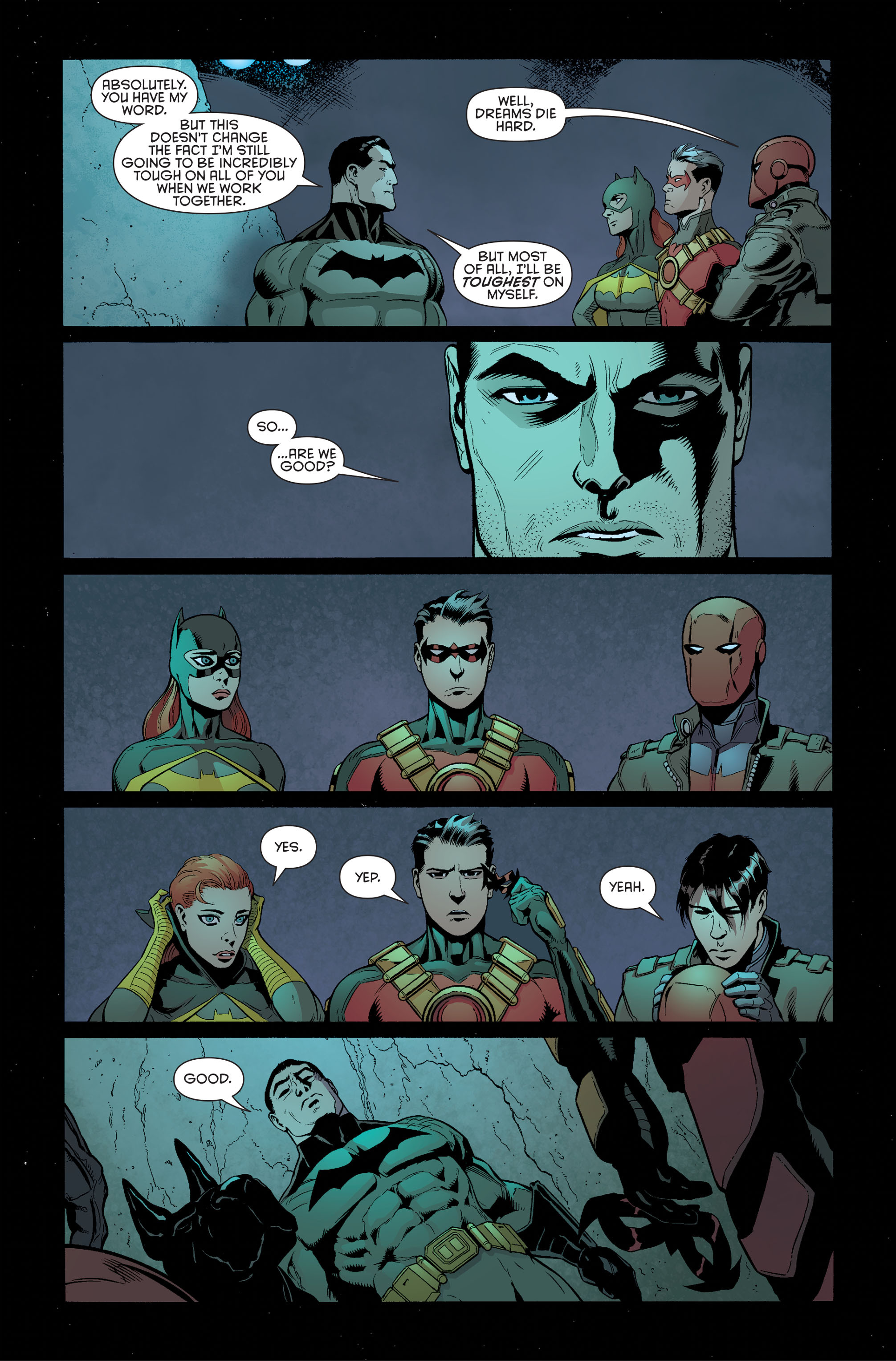 Read online Batman and Robin (2011) comic -  Issue #34 - 5