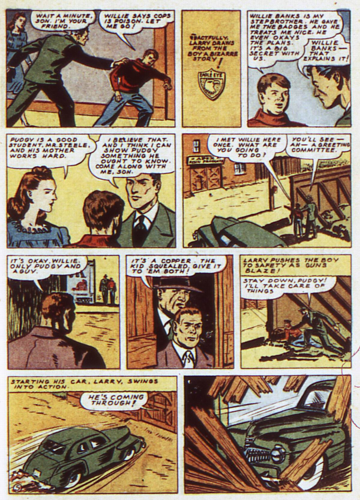 Read online Detective Comics (1937) comic -  Issue #52 - 35