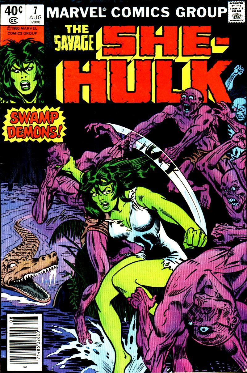 The Savage She-Hulk 7 Page 1