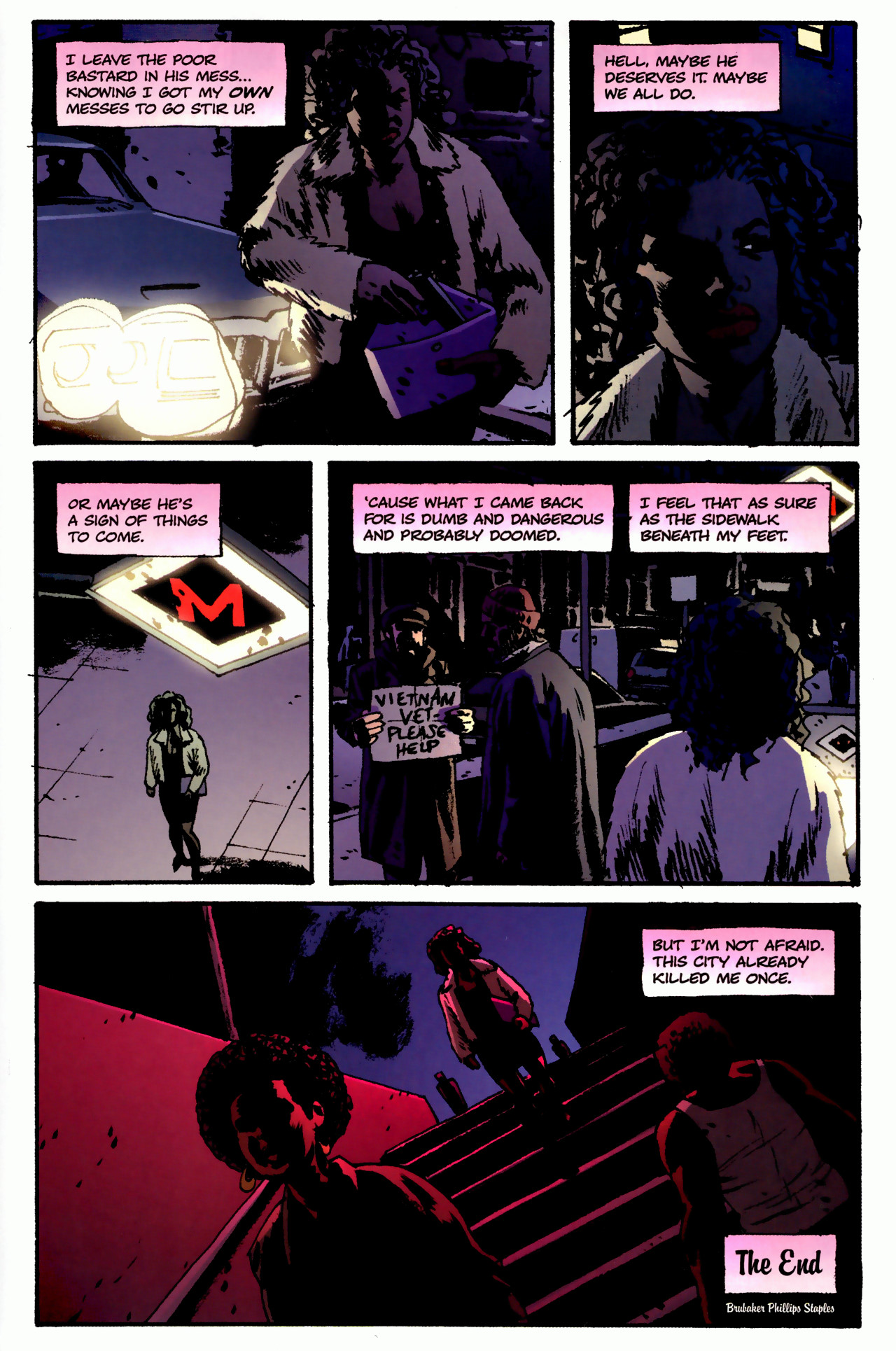 Read online Criminal (2008) comic -  Issue #3 - 32