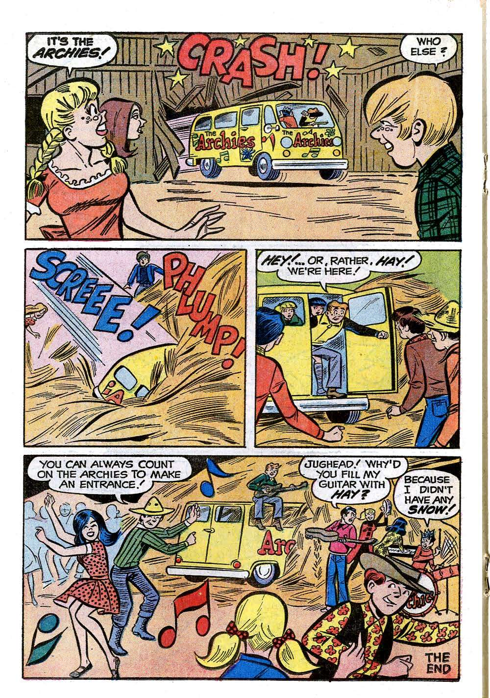 Read online Archie (1960) comic -  Issue #208 - 18