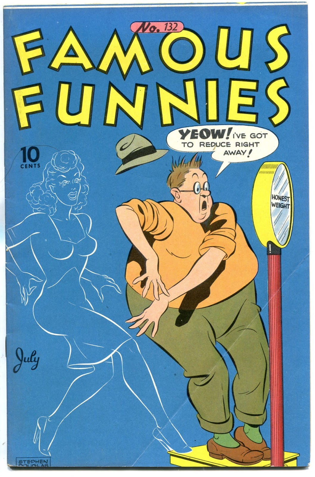 Read online Famous Funnies comic -  Issue #132 - 1