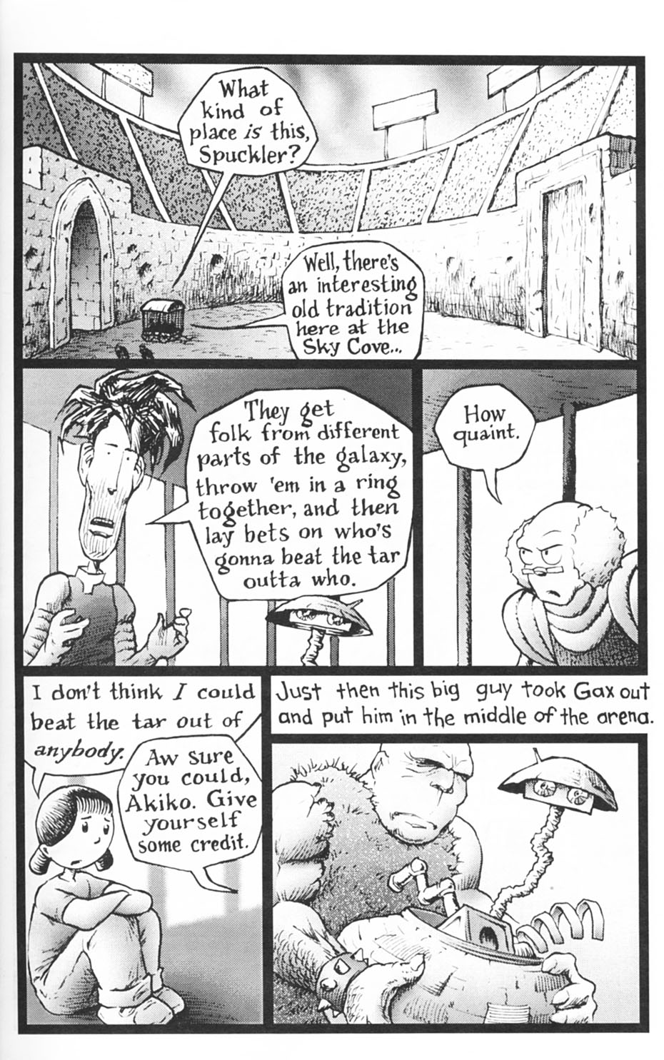 Read online Akiko comic -  Issue #Akiko _TPB 1 - 37