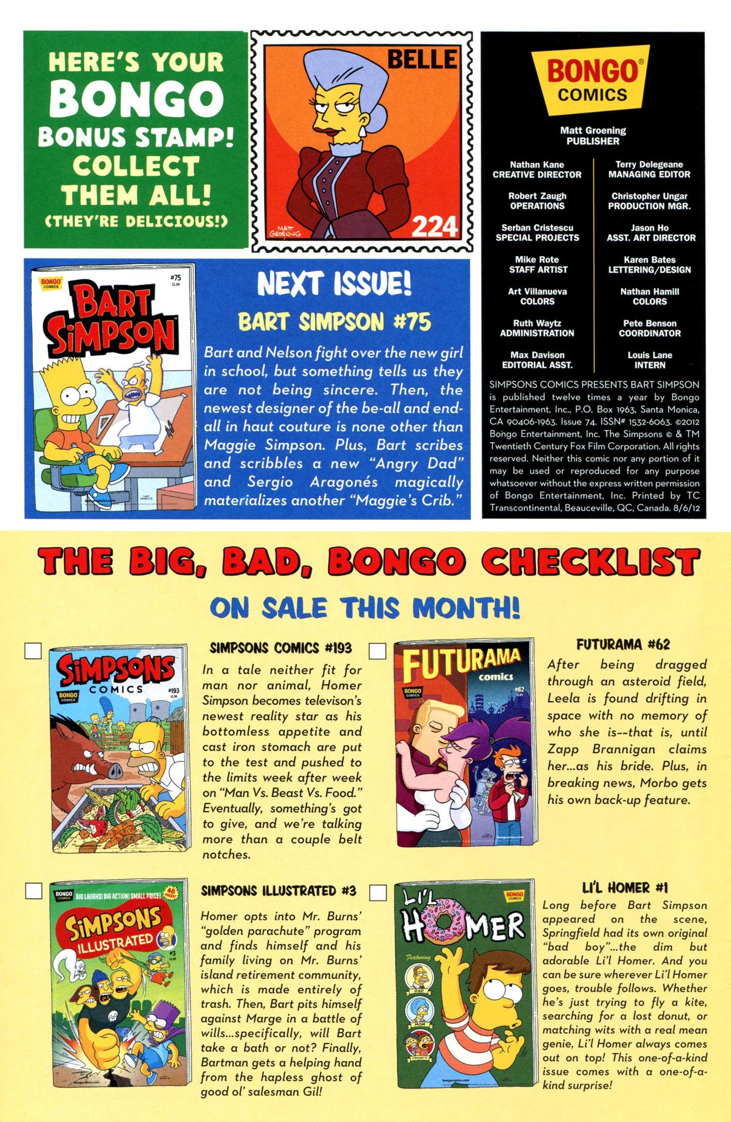 Read online Simpsons Comics Presents Bart Simpson comic -  Issue #74 - 30