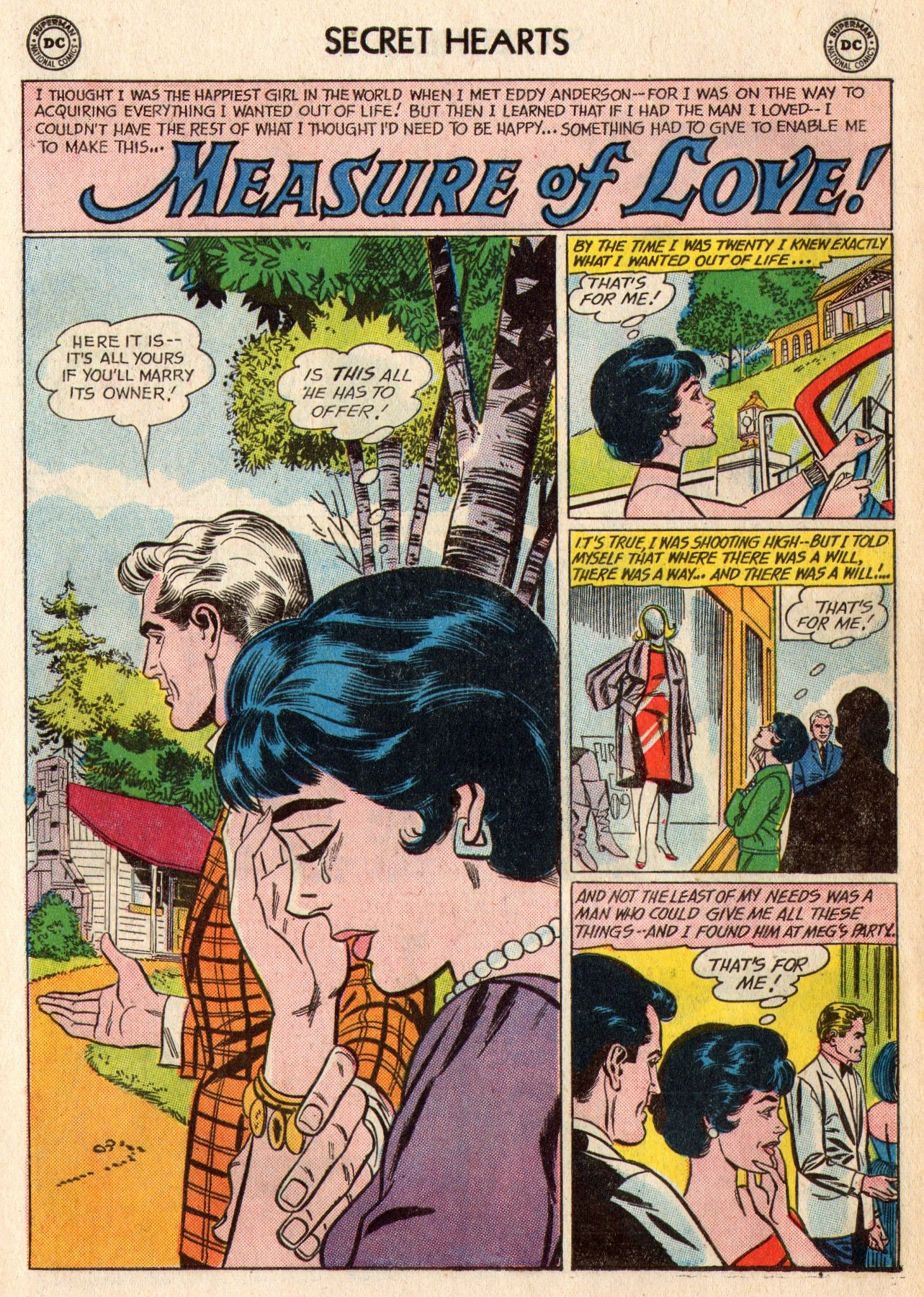 Read online Secret Hearts comic -  Issue #95 - 18