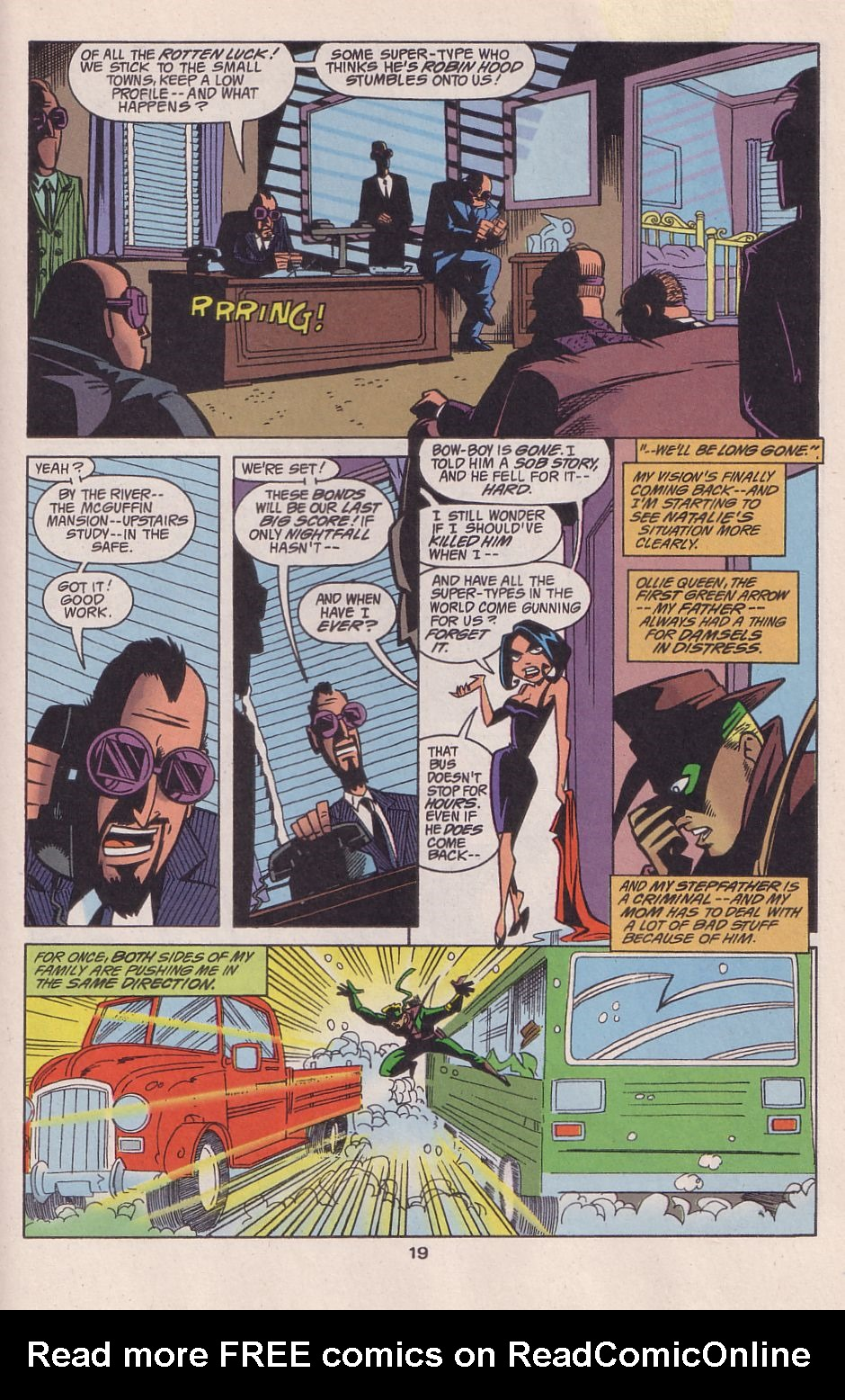 Read online Adventures in the DC Universe comic -  Issue #13 - 20
