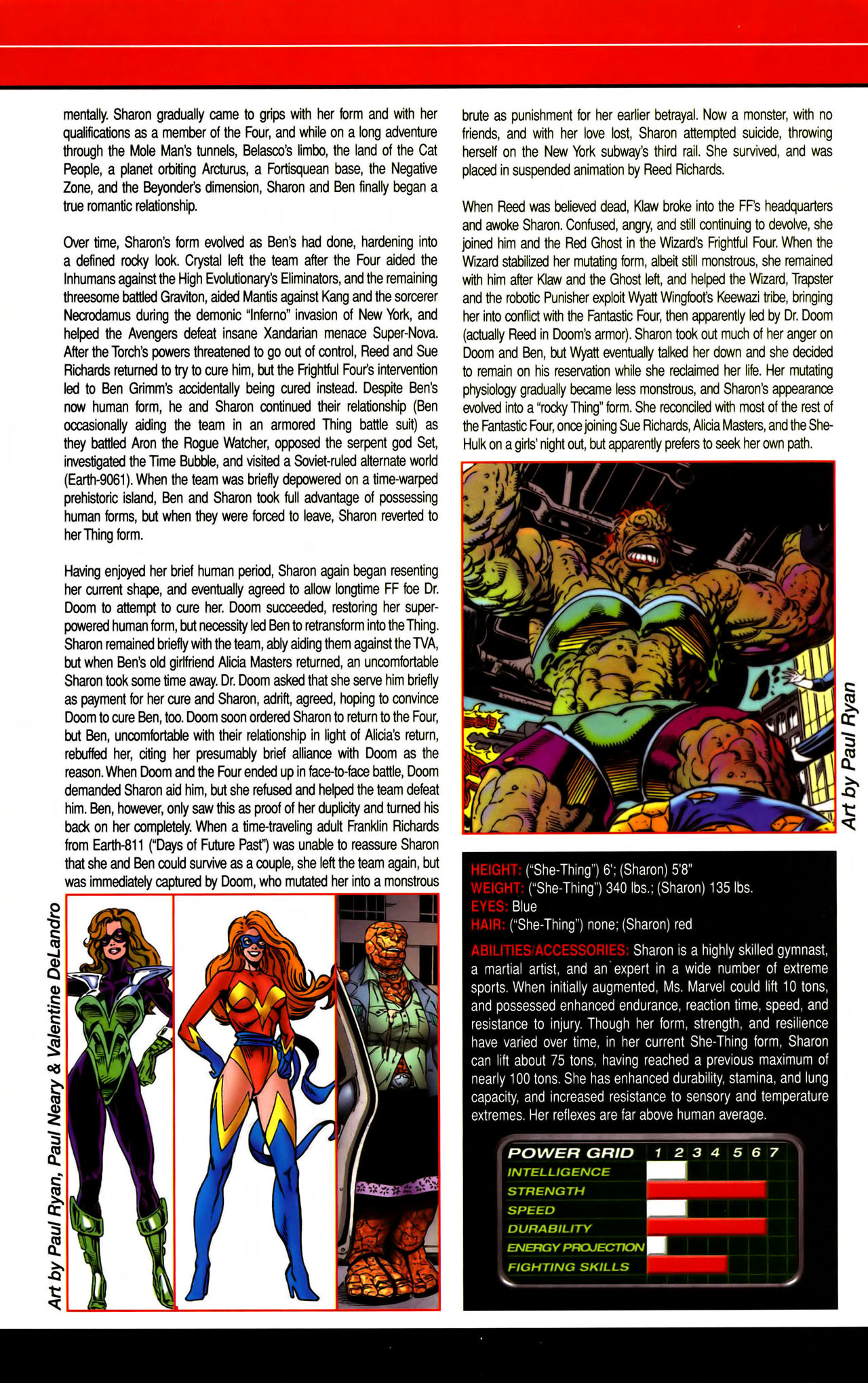 Read online All-New Official Handbook of the Marvel Universe A to Z comic -  Issue #7 - 58