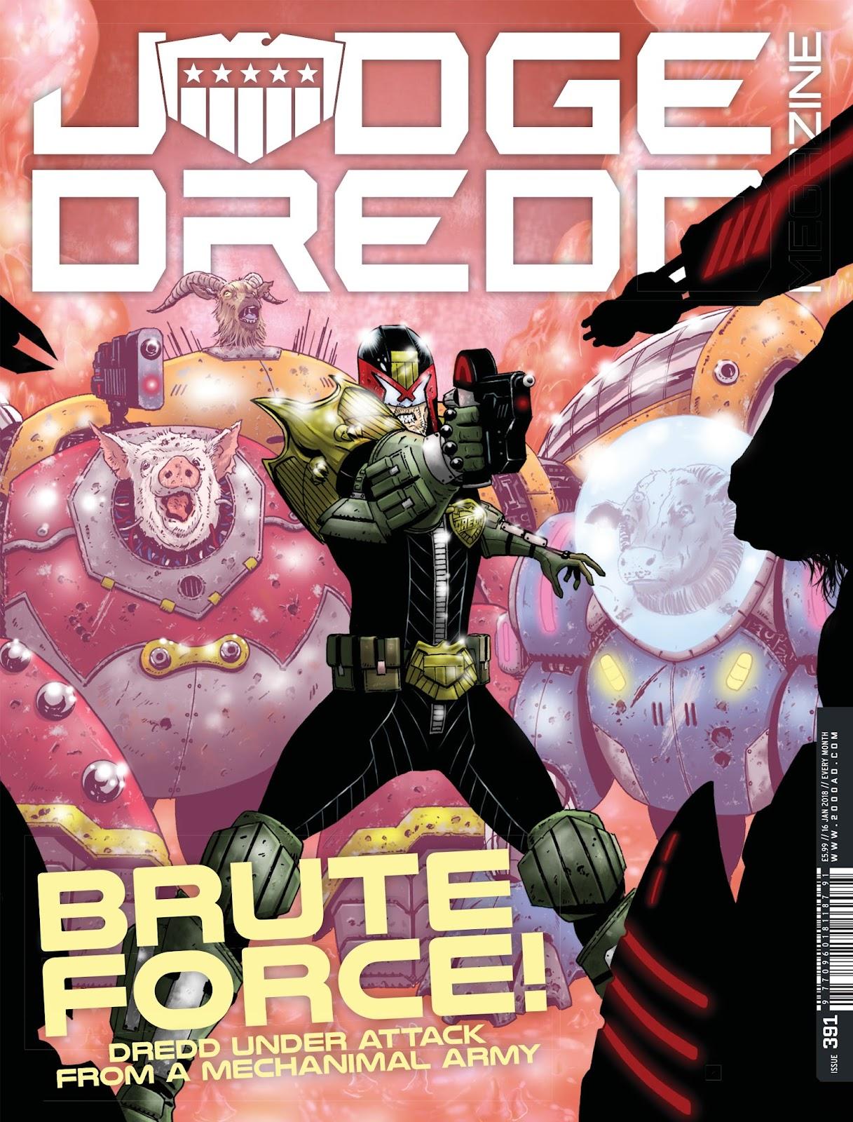 Judge Dredd Megazine (Vol. 5) issue 391 - Page 1