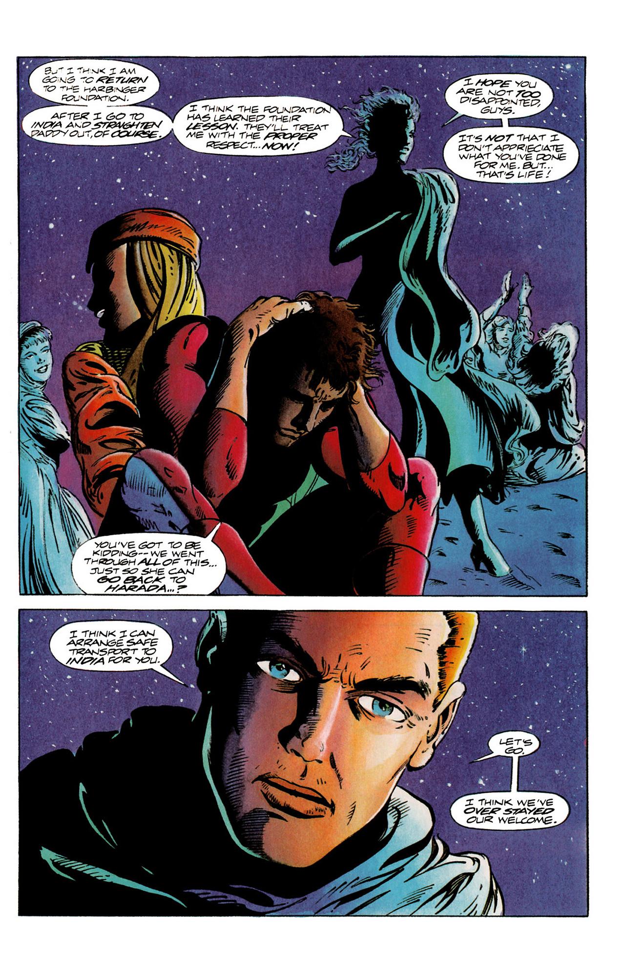 Read online Harbinger (1992) comic -  Issue #20 - 21
