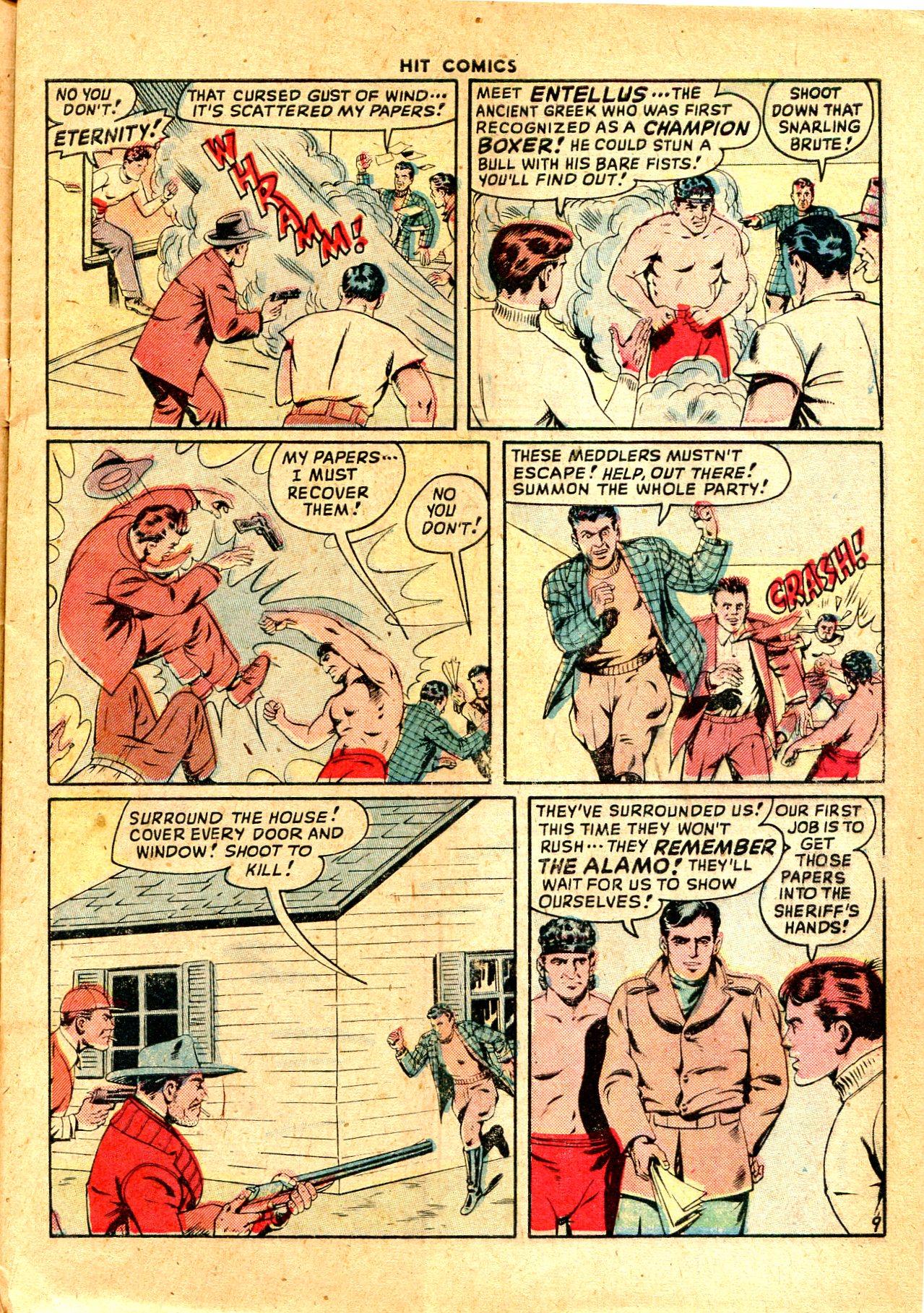 Read online Hit Comics comic -  Issue #57 - 11