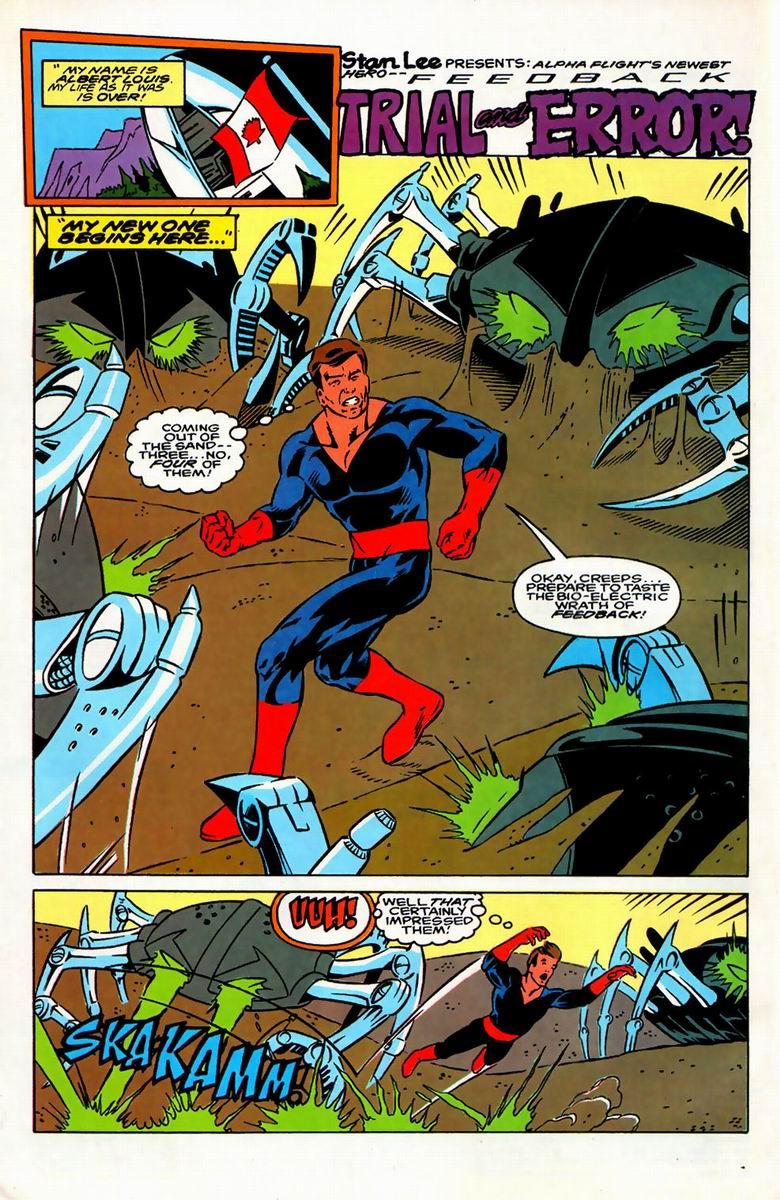 Read online Alpha Flight (1983) comic -  Issue #126 - 17