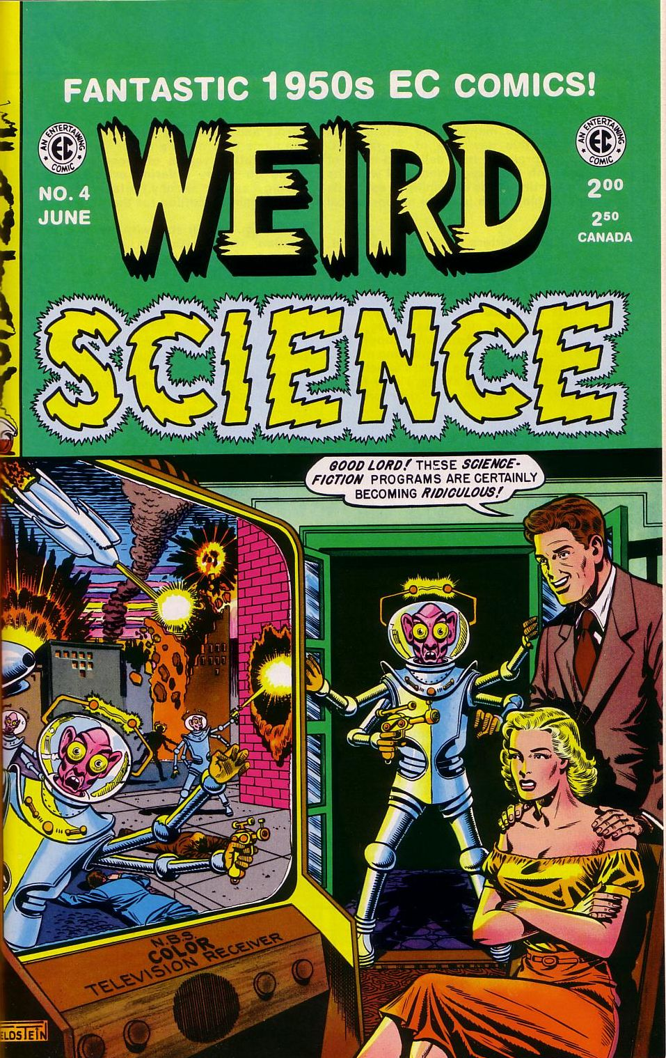Weird Science issue 4 - Page 1