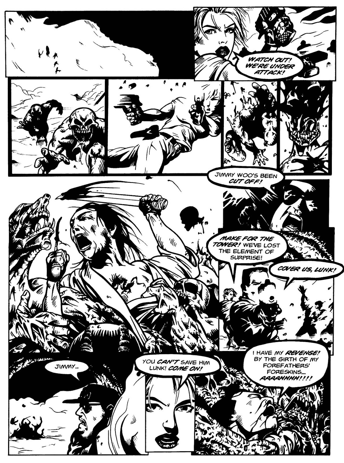 Read online Night of the Living Dead (1994) comic -  Issue #3 - 27