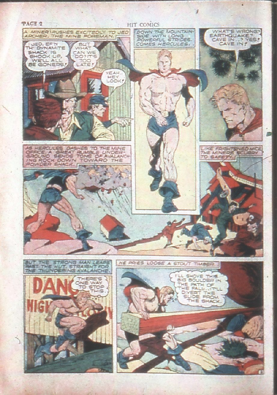 Read online Hit Comics comic -  Issue #15 - 4