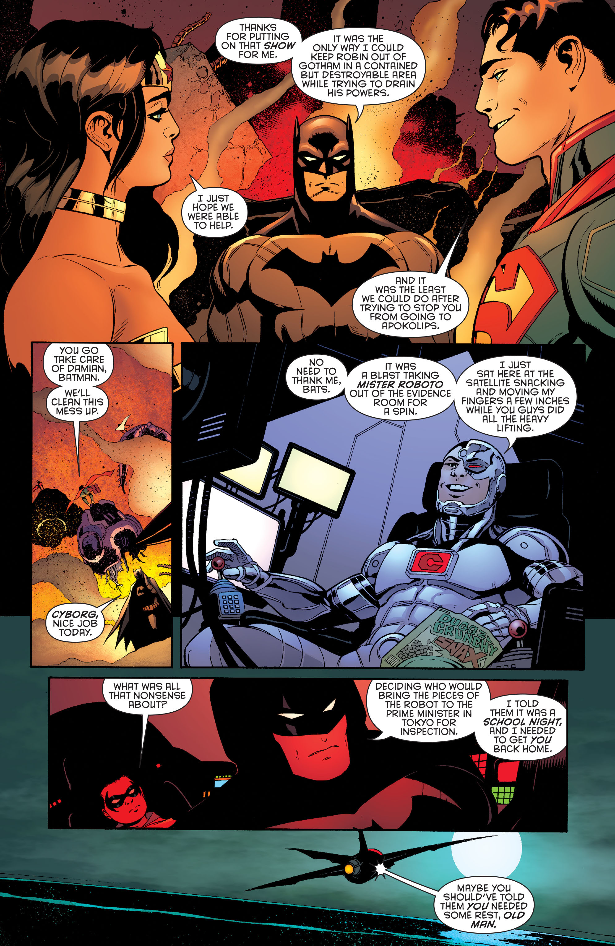 Read online Batman and Robin (2011) comic -  Issue #40 - 7