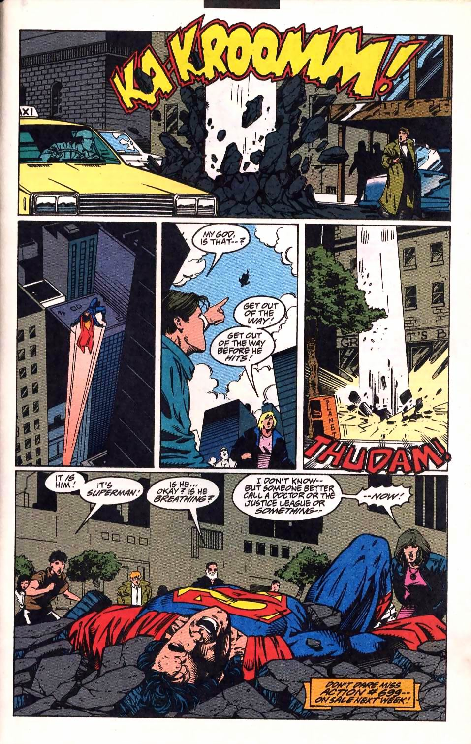 Read online Adventures of Superman (1987) comic -  Issue #512 - 23