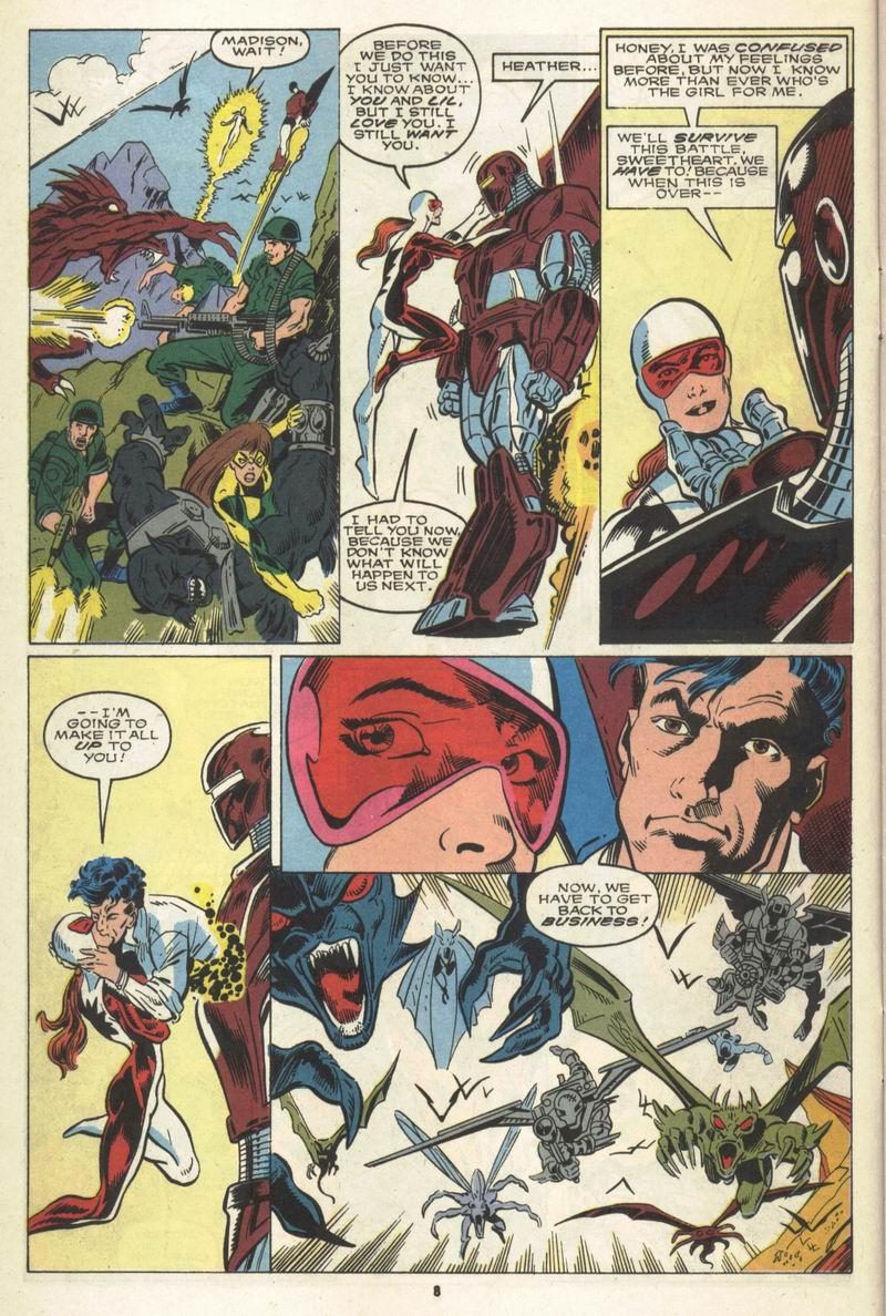 Read online Alpha Flight (1983) comic -  Issue #86 - 7