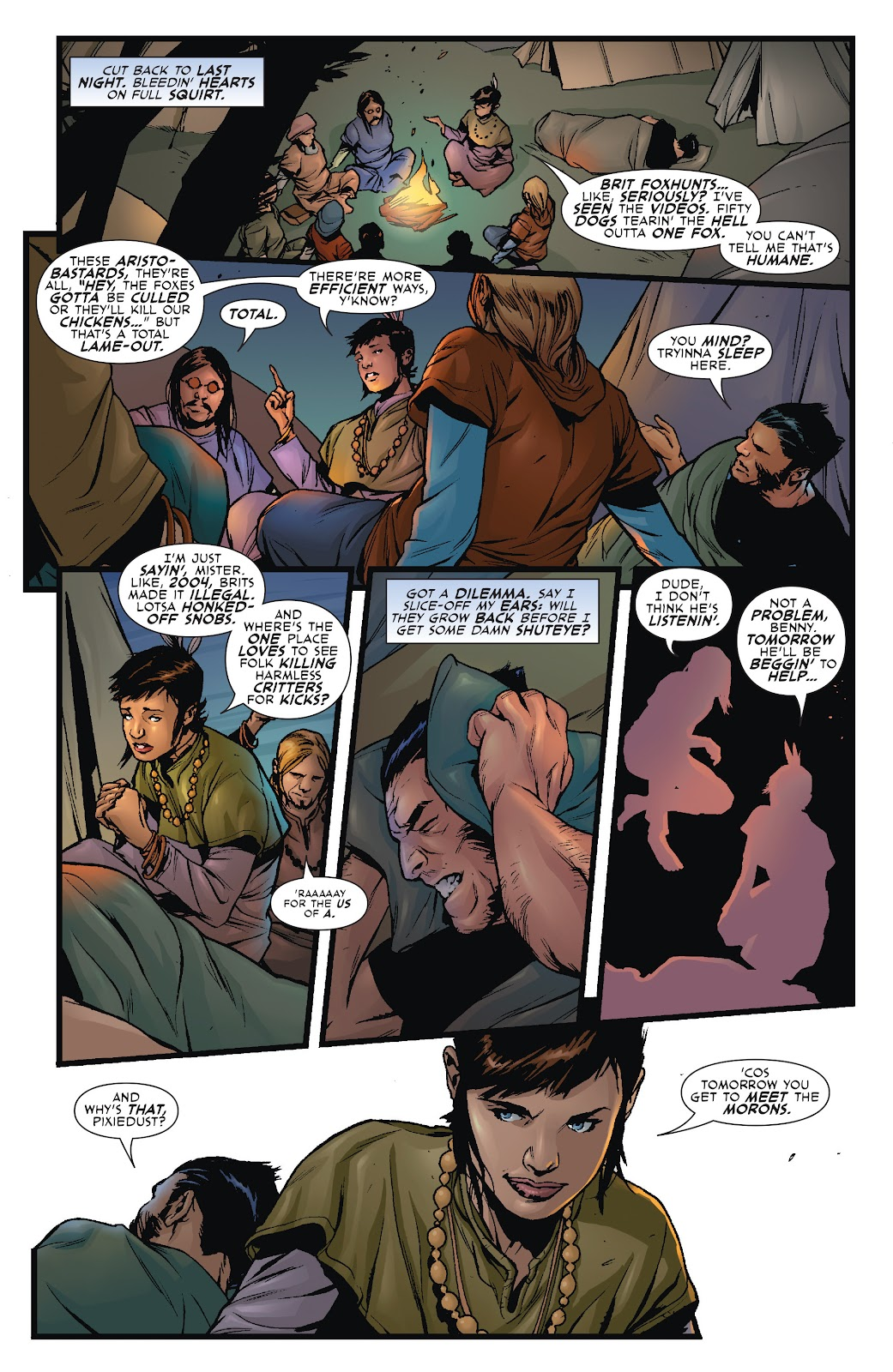 Wolverine: Dangerous Games issue Full - Page 6