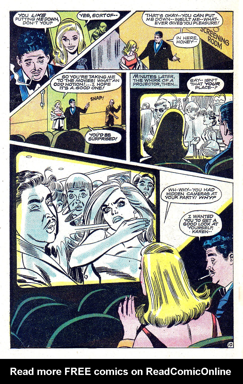Read online Secret Hearts comic -  Issue #131 - 28