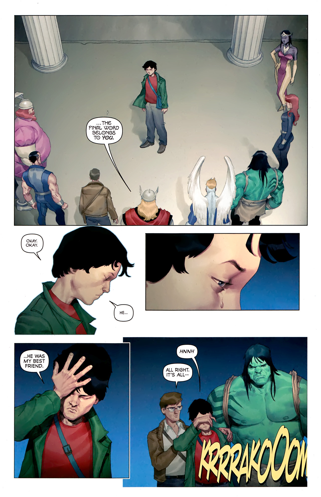 Read online Hercules: Fall of an Avenger comic -  Issue #1 - 20