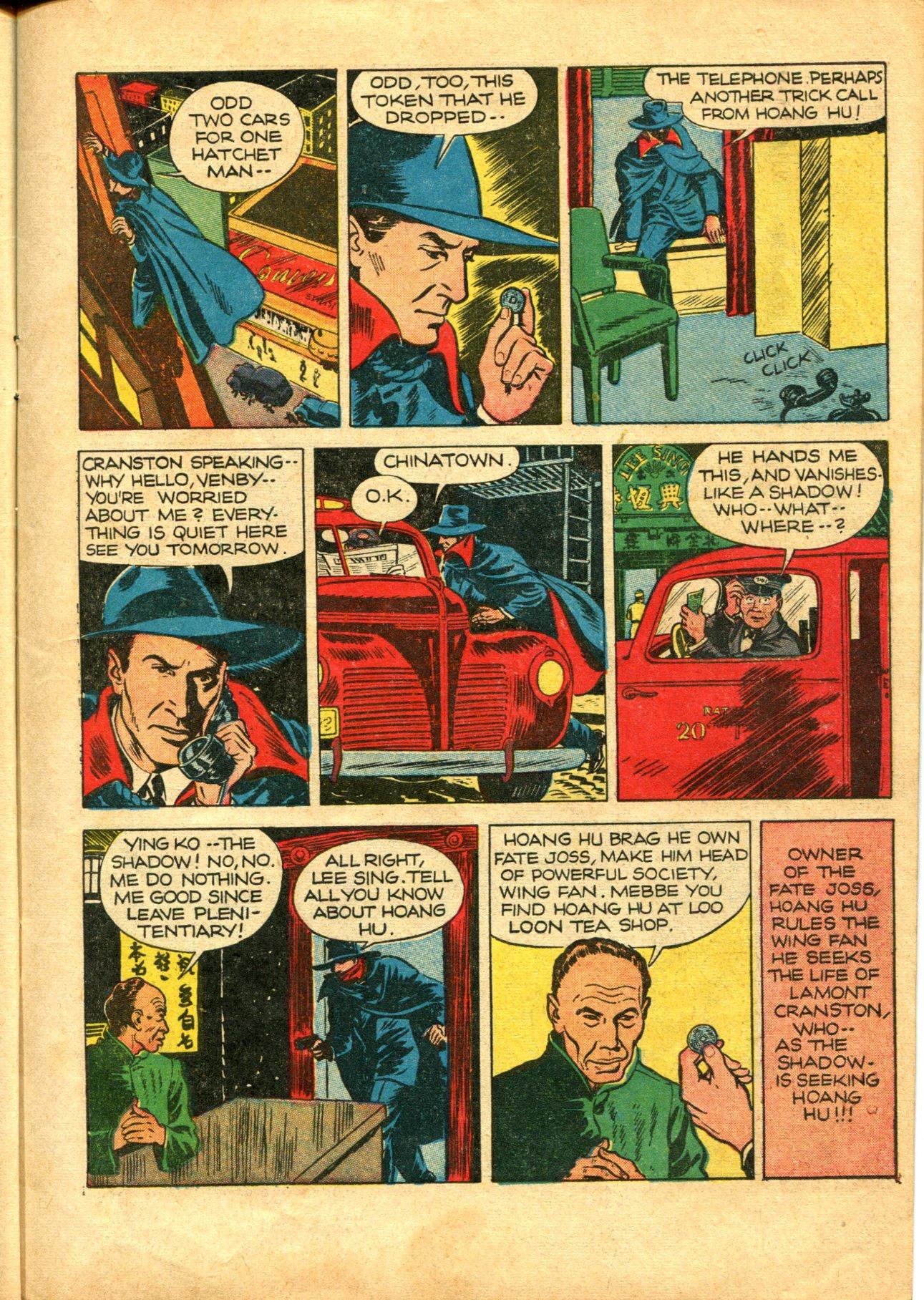 Read online Shadow Comics comic -  Issue #10 - 13
