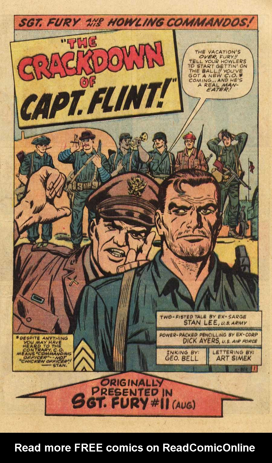 Read online Sgt. Fury comic -  Issue # _Special 2 - 41