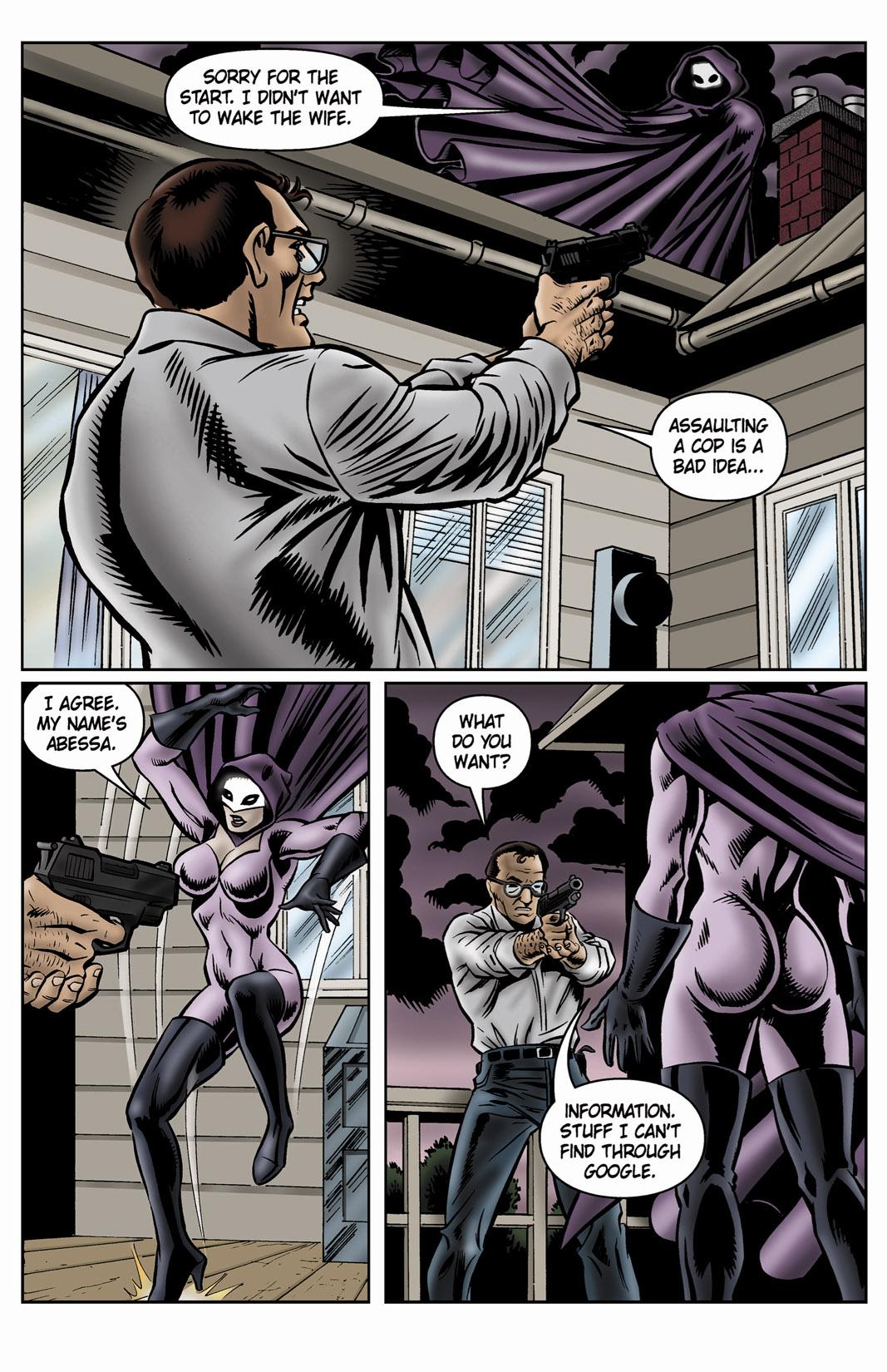 Read online SideChicks comic -  Issue #4 - 23