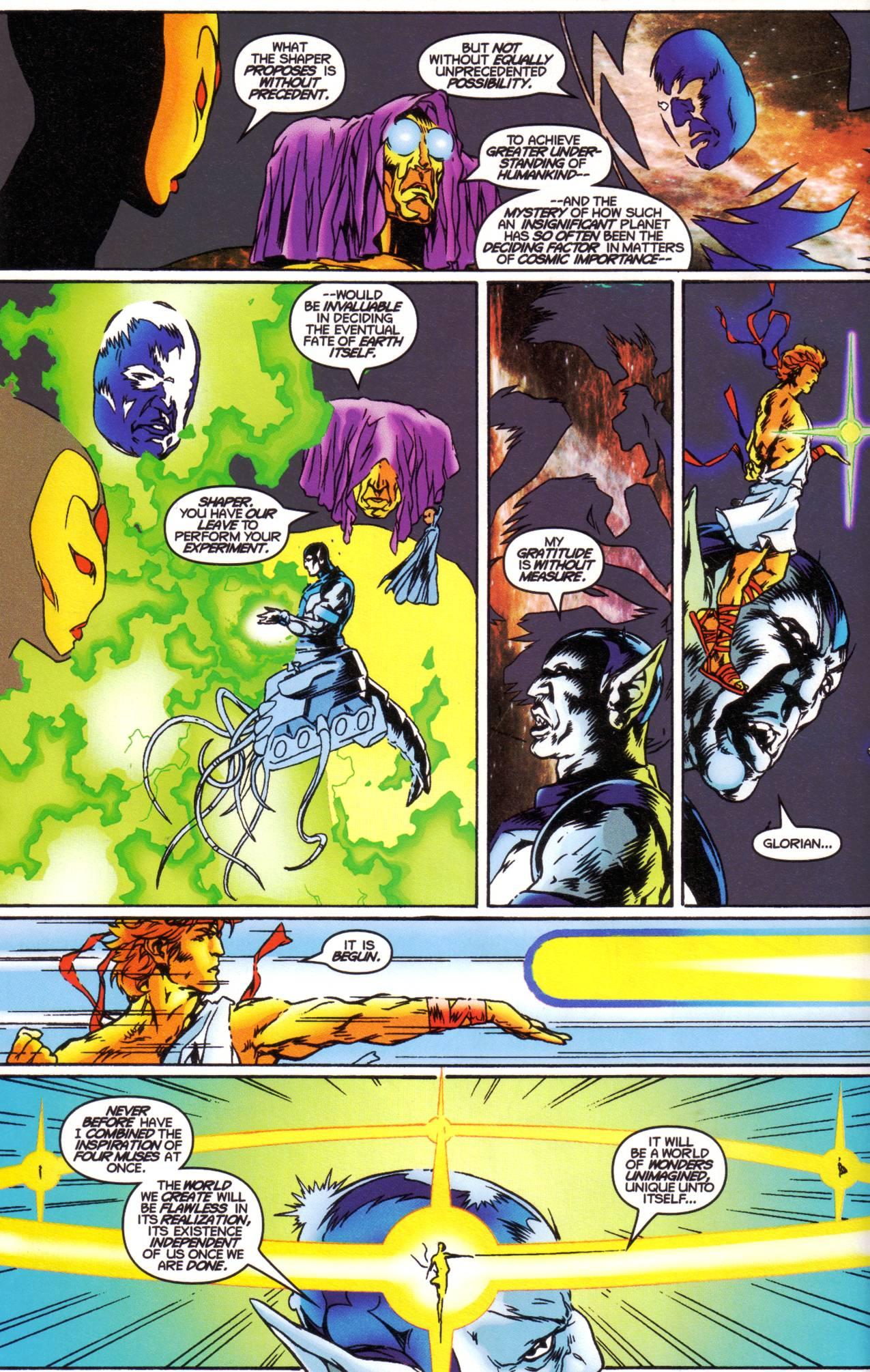 Read online Avataars: Covenant of the Shield comic -  Issue #1 - 4