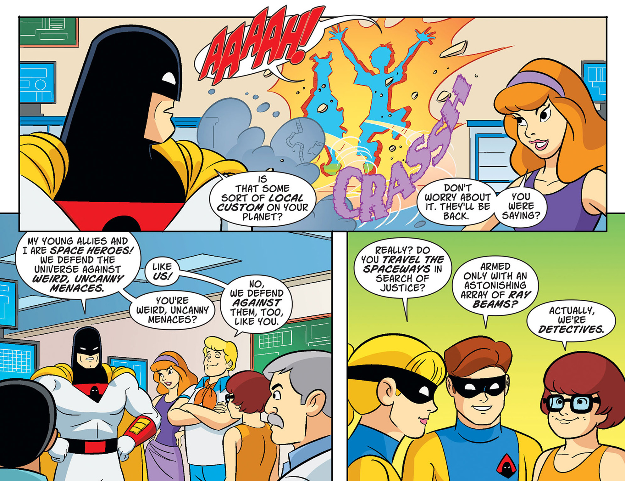 Read online Scooby-Doo! Team-Up comic -  Issue #39 - 17