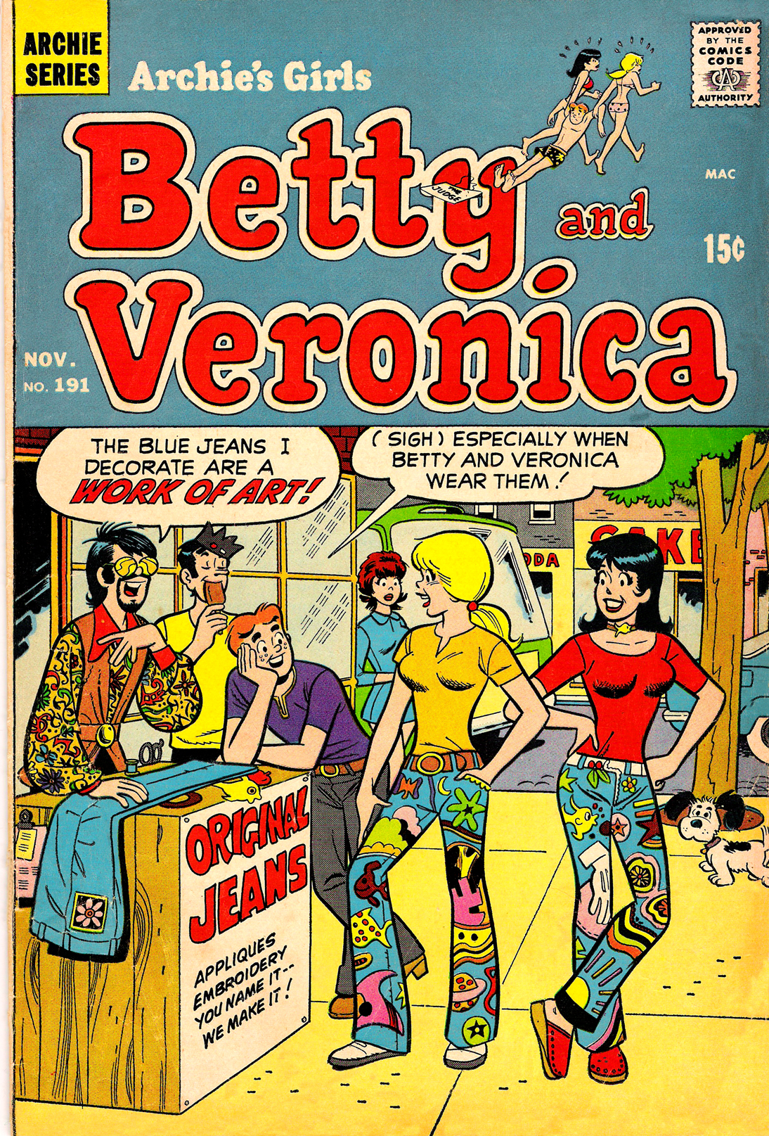 Read online Archie's Girls Betty and Veronica comic -  Issue #191 - 1