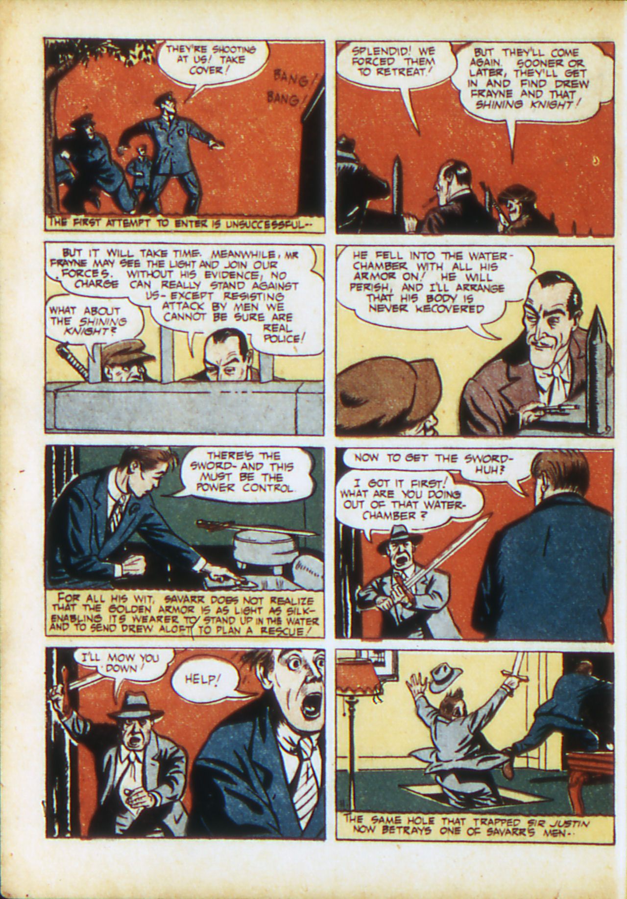 Read online Adventure Comics (1938) comic -  Issue #71 - 29