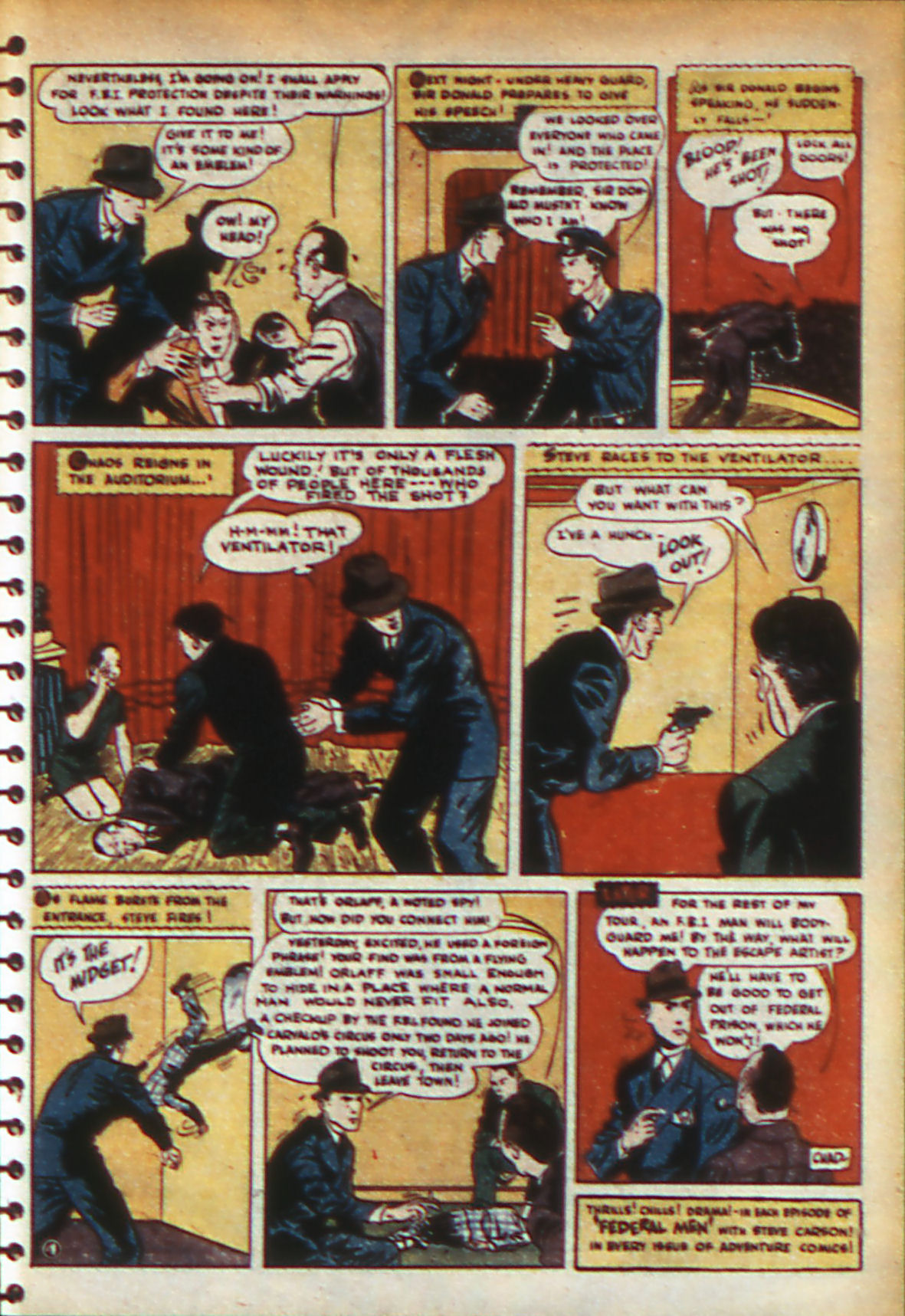 Read online Adventure Comics (1938) comic -  Issue #56 - 30