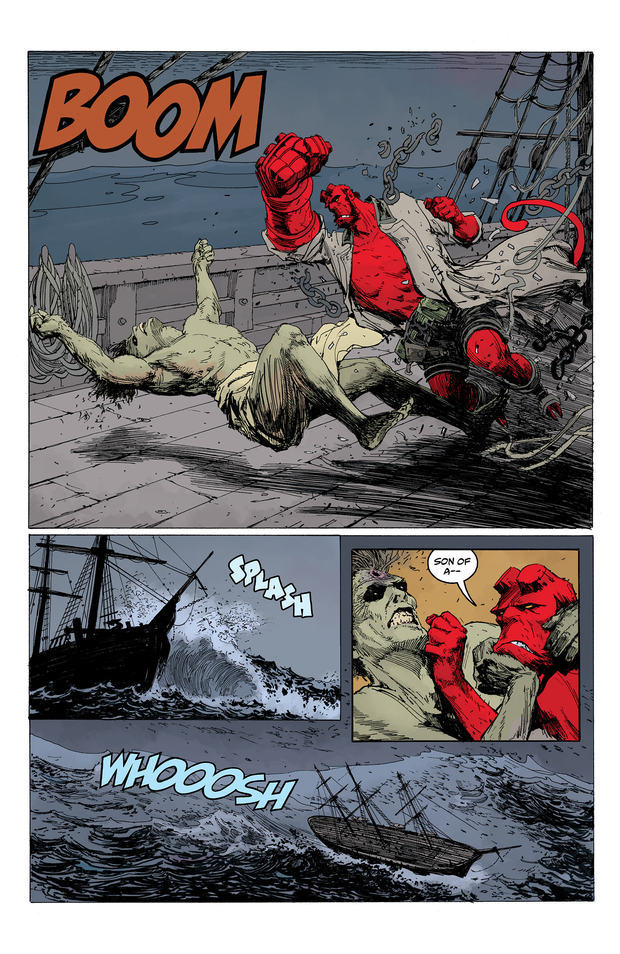 Read online Hellboy: Into the Silent Sea comic -  Issue # Full - 39