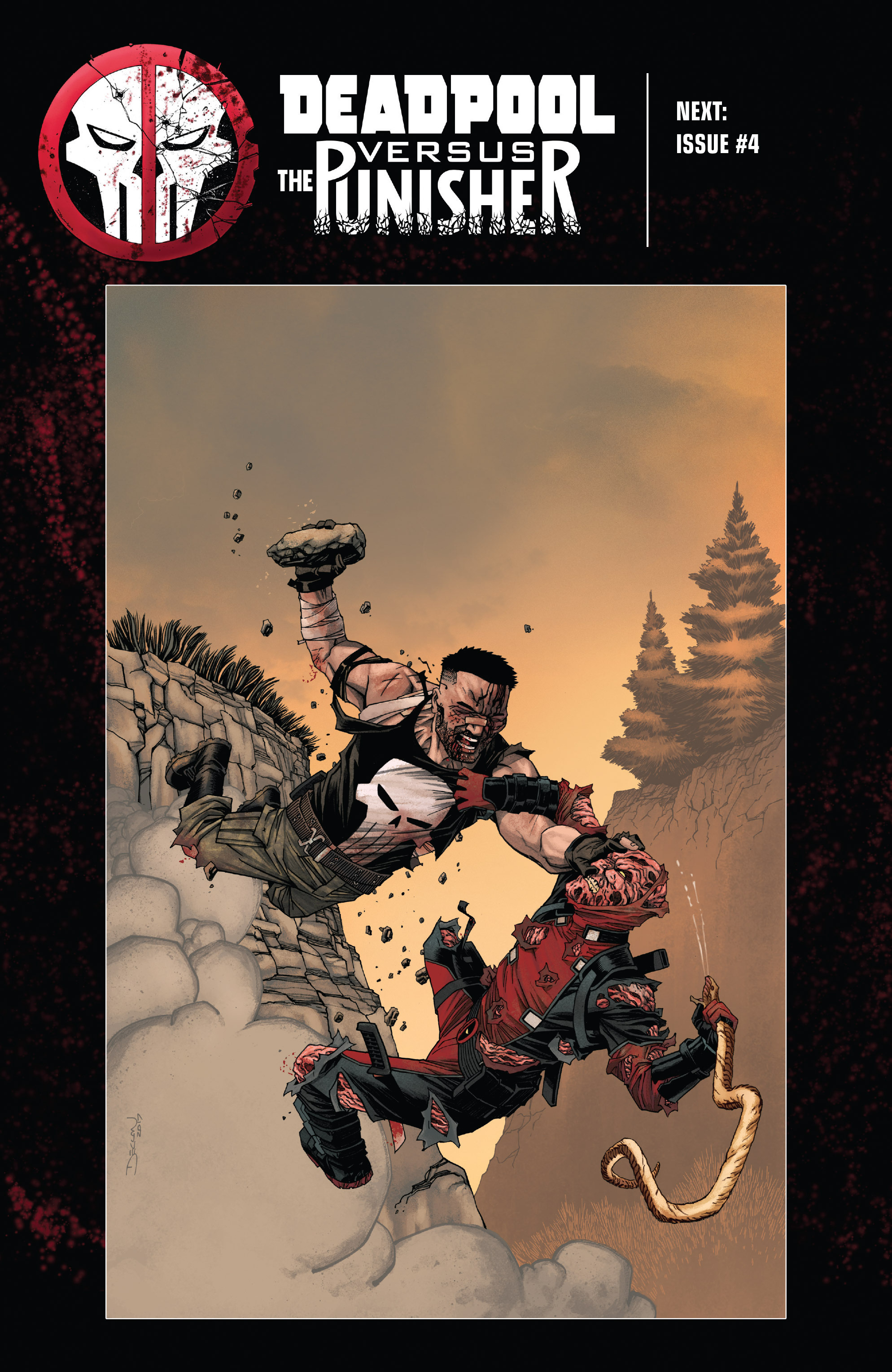 Read online Deadpool vs. The Punisher comic -  Issue #3 - 22