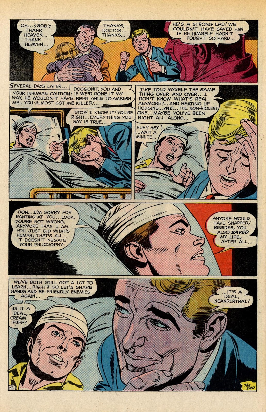 The Hawk and the Dove issue 5 - Page 30