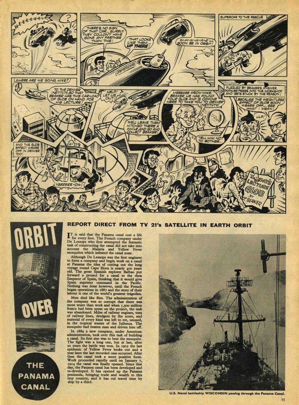 Read online TV Century 21 (TV 21) comic -  Issue #8 - 14
