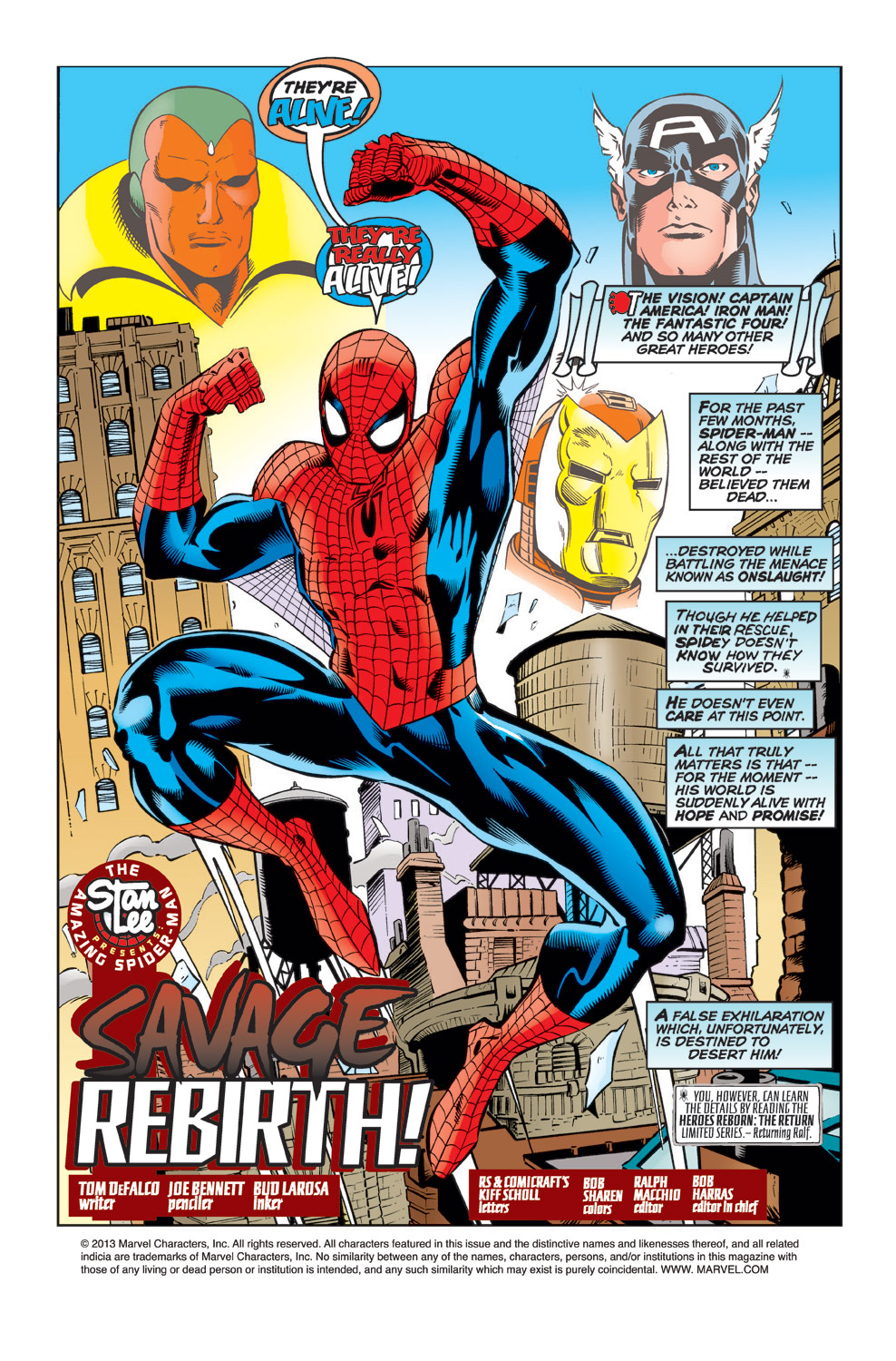 The Amazing Spider-Man (1963) 430 Page 1