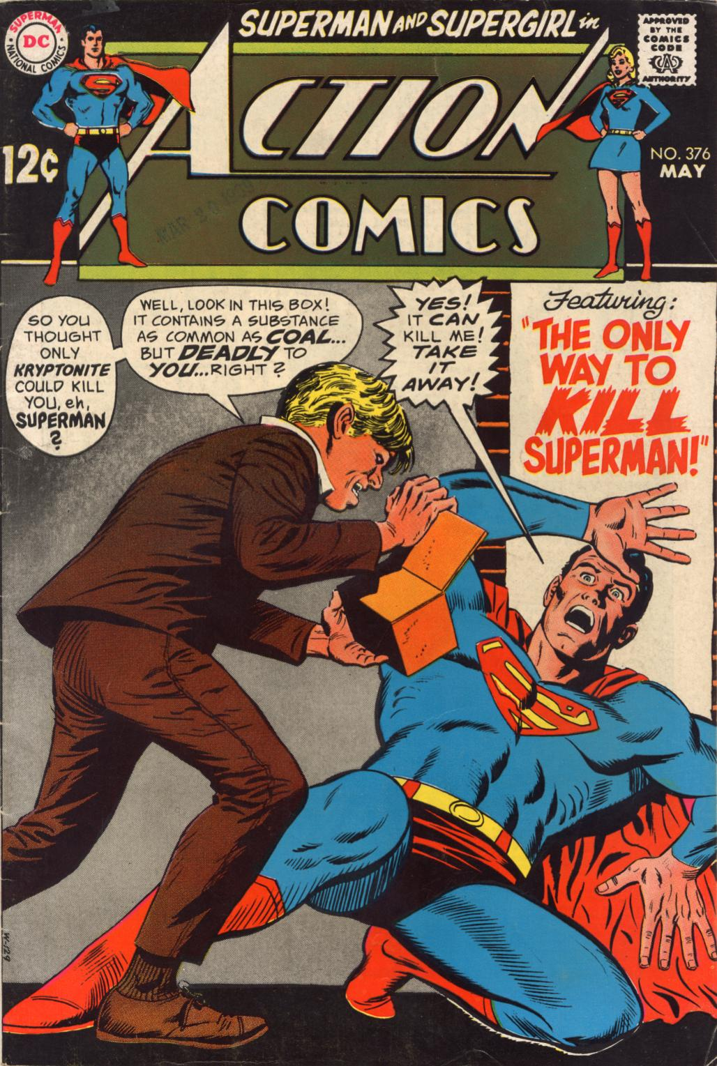Action Comics (1938) 376 Page 1