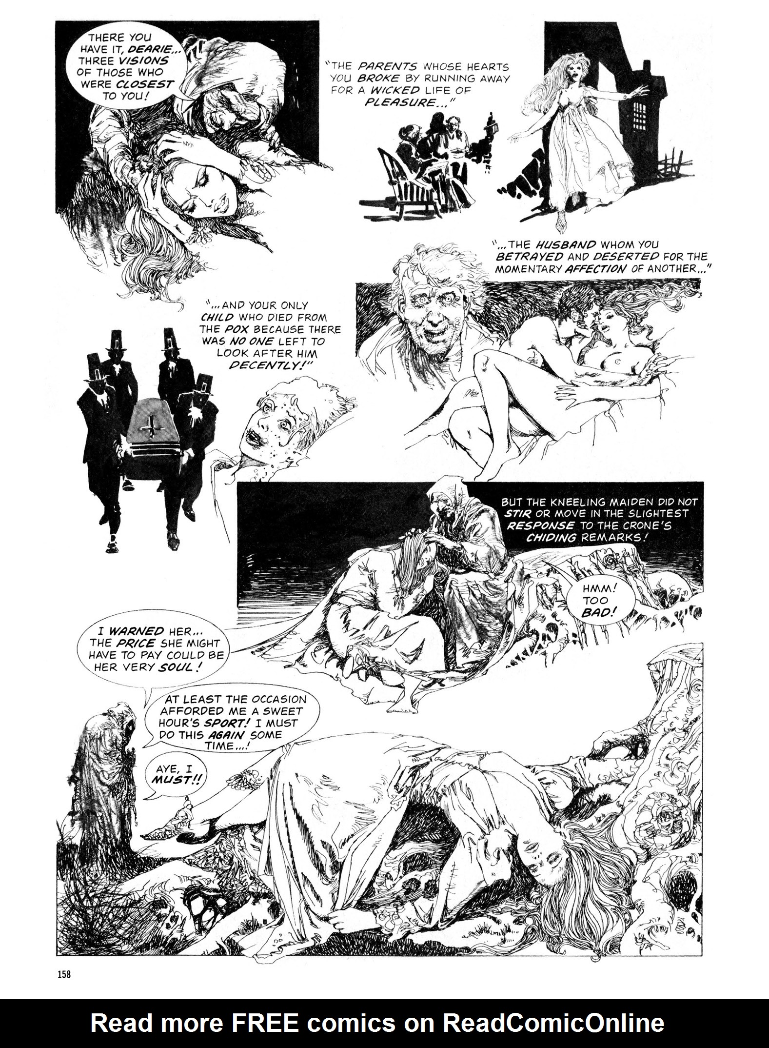 Read online Eerie Archives comic -  Issue # TPB 13 - 159