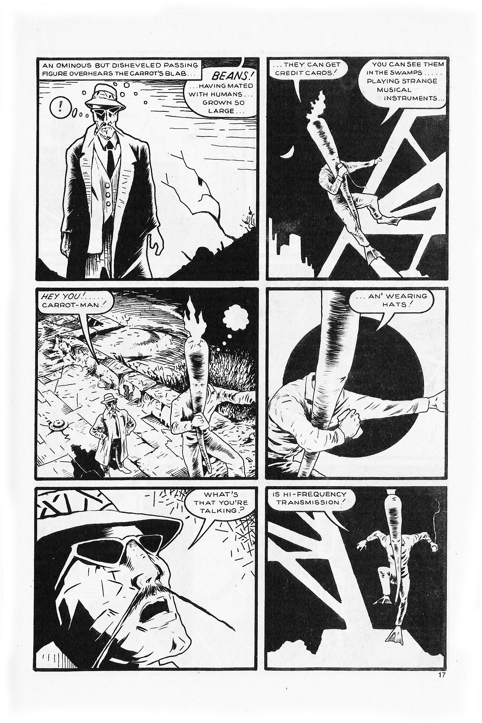 Read online Flaming Carrot Comics (1984) comic -  Issue #5 - 19