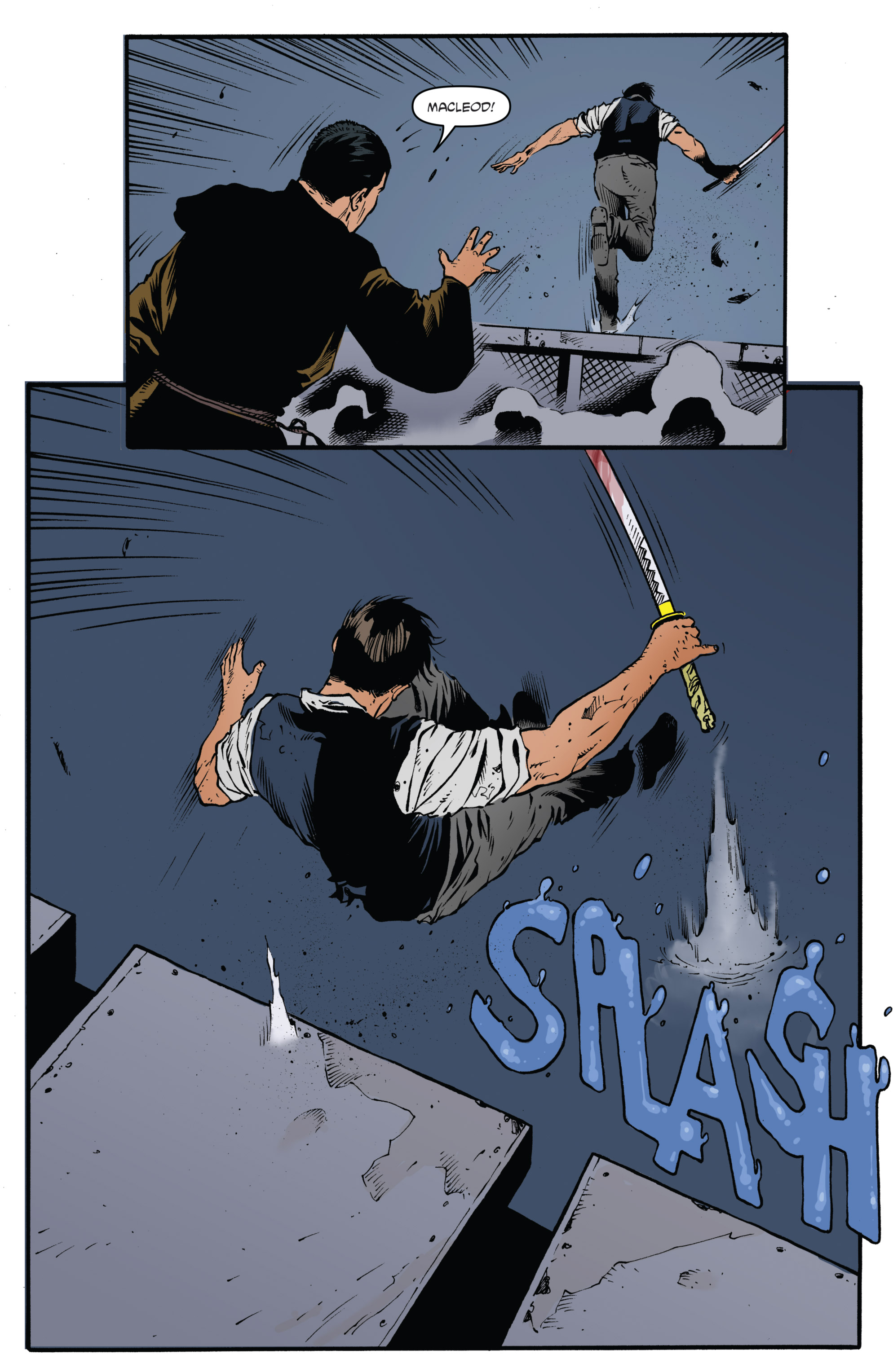 Read online Highlander: The American Dream comic -  Issue #4 - 11