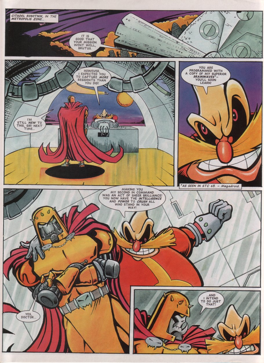 Read online Sonic the Comic comic -  Issue #69 - 26