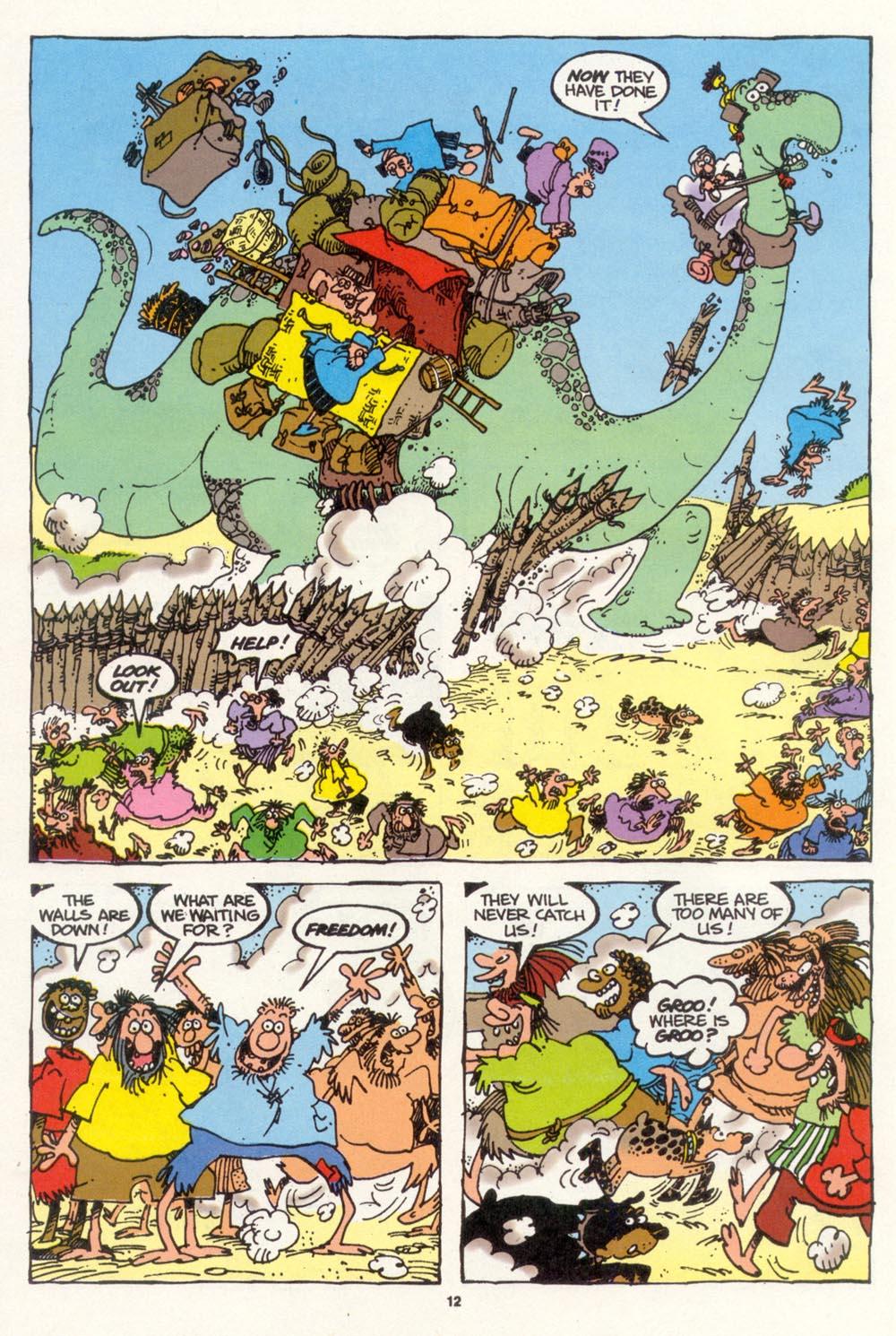 Read online Sergio Aragonés Groo the Wanderer comic -  Issue #103 - 14