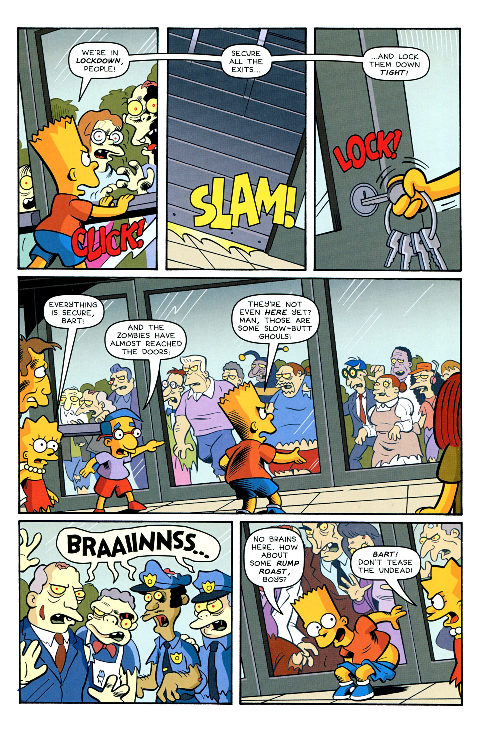 Read online Treehouse of Horror comic -  Issue #20 - 26