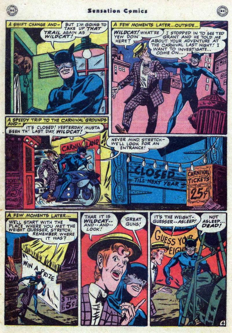 Read online Sensation (Mystery) Comics comic -  Issue #82 - 46