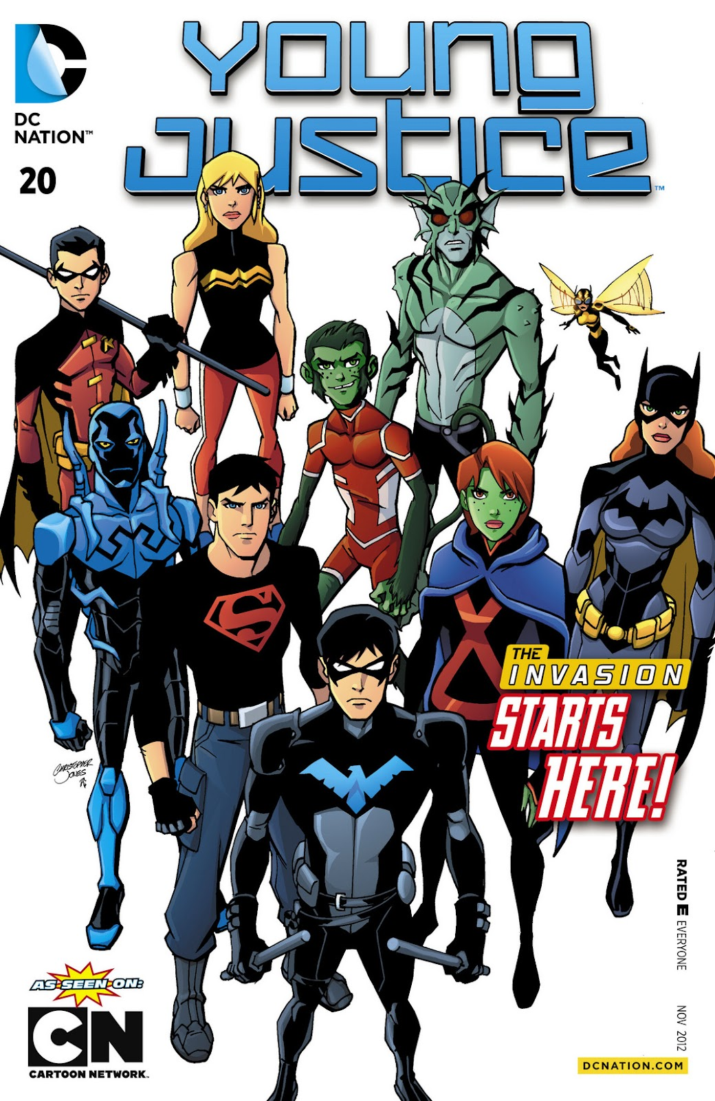 Young Justice (2011) issue 11012012-20 - Page 1