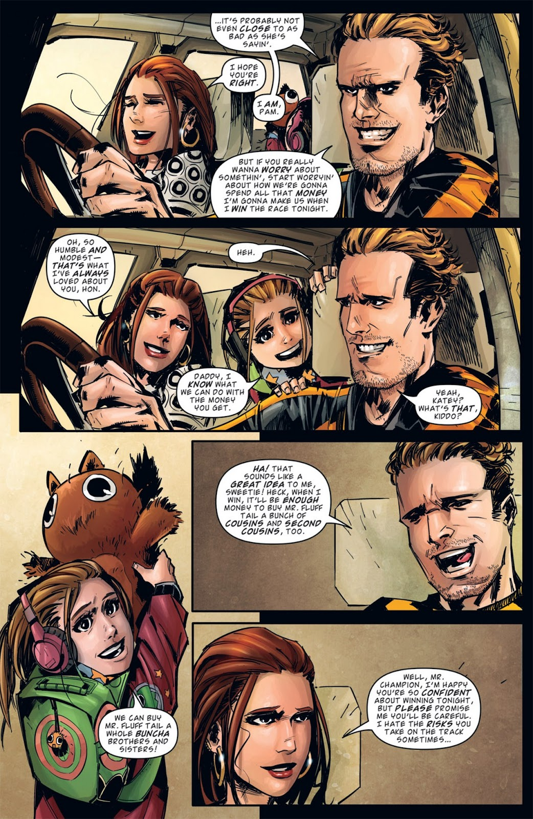Read online Dead Rising: Road to Fortune comic -  Issue #1 - 24