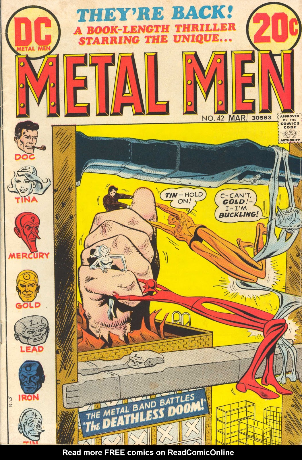 Metal Men (1963) issue 42 - Page 1
